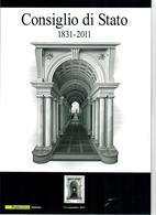 ITALIA 2011 - FOLDER CONSIGLIO DI STATO  - POSTE ITALIANE - SENZA SPESE POSTALI - 6. 1946-.. Republic