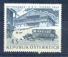 ÖSTERREICH 1964 Nr 1162 TransportationTransport Bus - MNH** - Bus