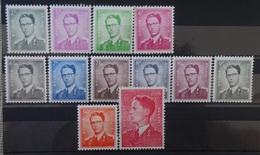 BELGIE  1958   Nr. 1066 - 1075      Postfris **  CW  365,00 - 1953-1972 Glasses