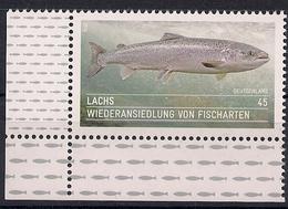 2014 Allem. Fed. Deutschland Germany Mi. 3051**MNH  EUL Atlantischer Lachs (Salmo Salar) - [7] Federal Republic