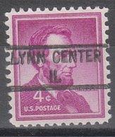USA Precancel Vorausentwertung Preo, Locals Illinois, Lynn Center 841 - Vereinigte Staaten