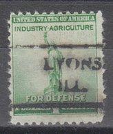 USA Precancel Vorausentwertung Preo, Locals Illinois, Lyons 716 - Vereinigte Staaten