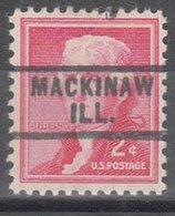 USA Precancel Vorausentwertung Preo, Locals Illinois, Mackinaw 729 - Vereinigte Staaten