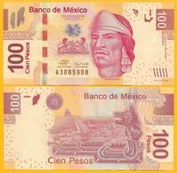 Mexico 100 Pesos P-124aA 2008 (Serie A) UNC Banknote - México