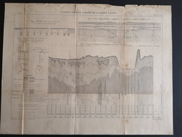 ANNALES PONTS Et CHAUSSEES (Dep 45) - Plan Du Viaduc Sur La Vallée De La Loire à Gien - Graveur Macquet - 1893 (CLF39) - Public Works