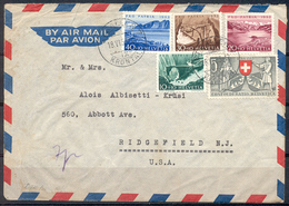 LIQUIDATION TOTALE : 1953 - TRES BELLE LETTRE Avec TRES BEL AFFRANCHISSEMENT (SERIE COMPLETE) - Suisse