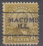USA Precancel Vorausentwertung Preo, Locals Illinois, Macomb 640-701 - Vereinigte Staaten