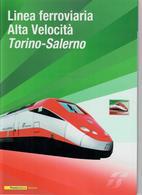 ITALIA 2011 - FOLDER   LINEA FERROVIARIA ALTA VELOCITA' TORINO SALERNO   - SENZA SPESE POSTALI - 6. 1946-.. Repubblica