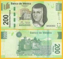 Mexico 200 Pesos P-125d 2009 (Serie T) UNC Banknote - Mexico