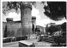 Tivoli (Roma). Rocca Di Pio II° - Viale Trieste. Corriera. - Tivoli
