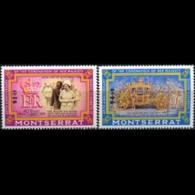 MONTSERRAT 1993 - Scott# 827-8 Coronation Set Of 2 MNH - Montserrat