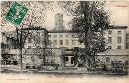 FOIX - L' Hotel De Ville - Cachet Perlé De NIAUX (Ariège) (112944) - Foix
