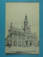 L'Hôtel Communale De Schaerbeek Avant La Restauration Et L'incendie Du 17 Avril 1911 - Schaarbeek - Schaerbeek