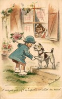 ILLUSTRATION SIGNEE GERMAINE BOURET LE TICKET DE SUCRE - Bouret, Germaine