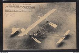 1466 AV09 AK PC CPA HELICOPLANE PAUL CORNU NON CIRCULER TTB - ....-1914: Precursori