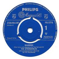 "The Springfields  ""  Bambino  "" - Vinyles"