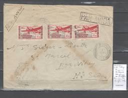 Congo - Cachet De Brazzaville Avec Censure  - 1940 -  Marcophilie AEF - Brieven En Documenten