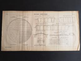 ANNALES PONTS Et CHAUSSEES (Dep 22) - Plan De La Ville De Dinan._Réservoir De Malaunay - 1907 (CLF42) - Nautical Charts