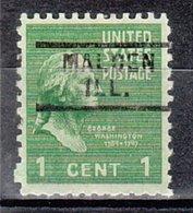USA Precancel Vorausentwertung Preo, Locals Illinois, Malden 729 - Vereinigte Staaten