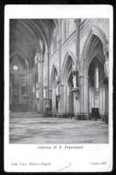 GAETA - LATINA - 1909 - INTERNO DELLA CHIESA DI S.FRANCESCO - Latina