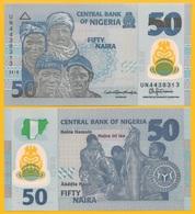 Nigeria 50 Naira P-40 2018 UNC Polymer Banknote - Nigeria
