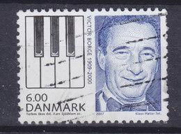 Denmark 2007 Mi. 1478    6.00 Kr Great Danes Victor Borge - Gebraucht