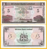 Northern Ireland 5 Pounds P-340b 2013 Ulster Bank UNC Banknote - [ 2] Ireland-Northern