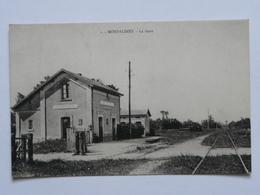 CPA Carte Postale Ancienne - Morsalines La Gare - Frankreich