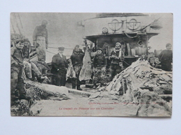 CPA Carte Postale Ancienne - Le Travail Du Poisson Sur Un Chalutier - Cliché Des Oeuvres De Mer - Frankreich