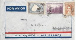 Argentinien Luftpost Beleg  MiF 1939 Buenos Aires-Mainz - Luftpost