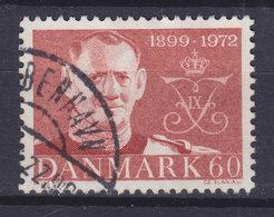 Denmark 1972 Mi. 520      60 Øre Geburtstag Von König Frederik IX. (73 Jahre) - Dänemark