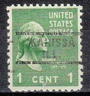 USA Precancel Vorausentwertung Preo, Locals Illinois, Marissa 743 - Vereinigte Staaten