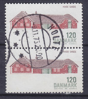 Denmark 1972 Mi. 539      120 Øre Baukunst Hof In Hvide Sande (Pair, Paare) Deluxe HOLTE Cancel !! - Dänemark