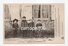 - CPA CONDAT-EN-FENIERS (15) - Nous Allons à La Foire Voisine Pour Vendre Nos Petits Chevaux Et Nos Grands Sabots... - Condat