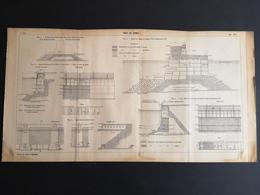 ANNALES DES PONTS Et CHAUSSEES (Italie) - Plan Du Port De Gênes - 1907 (CLF44) - Zeekaarten