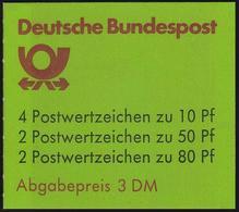 25av MH SWK Weiße Gummierung PLF II: Stufenbruch, Feld 8, ** - Markenheftchen