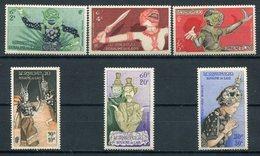1955- LAOS- RAMAJANA EPOS- 6 VAL. - M.N.H.- LUXE !! - Laos
