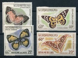 1965- LAOS-PAPILLONS -BUTTERFLYES- M.N.H.- LUXE !! - Laos