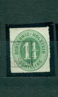 Schleswig-Holstein, Wertziffen , Nr. 9 Gestempelt - Schleswig-Holstein