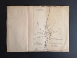 ANNALES DES PONTS Et CHAUSSEES (IDep 87) - Plan Des Tramways électriques De Limoges - Imp L.Courtier 1900 (CLF46) - Machines