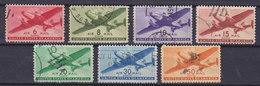 United States 1941 Mi. 500-06 Air Mail Postflugzeug Complete Set !! - Luftpost