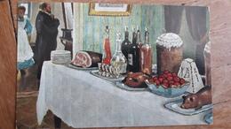 M. Germascheff Easter Table Russian - Peintures & Tableaux