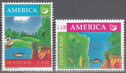 HONDURAS     SCOTT NO. 363-64    MNH    YEAR  1990 - Honduras