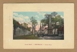 Westerlo Groote Markt - Westerloo - Grand-Place (1909). Geanimeerd. Uitg. Geerts-Berghmans - Westerlo