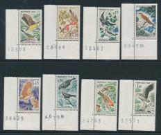 MONACO Mi. Nr.  700-702, 705-709 Vogelschutz. Satz Nicht Komplett - MNH - Vögel