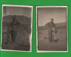AOI Etiopia Samre 1936 Soldati Regio Esercito E Piccolo Indigeno Africa Orientale Colonie - Guerra, Militari