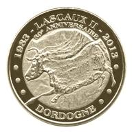 Monnaie De Paris , 2013 , Montignac , Lascaux II , 1983-2013 , Le Taureau - Autres