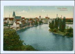 U6287-392./ Calbe A.d. Saale Gesamtansicht 1923 AK - Germany