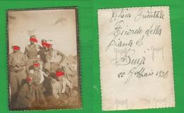 AOI Dancalia Piana Di Buja 1936 Tende Campo Soldati Regio Esercito Africa Orientale Colonie - Guerra, Militari