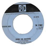"""Status Quo """"  Down The Dustpipe  """" - Vinyles"""